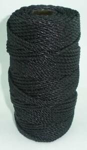 Catahoula 12330 Twisted Tarred Nylon Twine #30 310 Lb. Test 610 ft