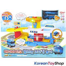 The Little Bus Tayo Baby Parking Garage Sound Play Set w/ Mini Car Tayo Toy