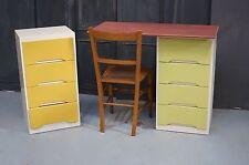 Vintage 1970's Desk Drawers Retro Liden Whitewood - We Can Deliver