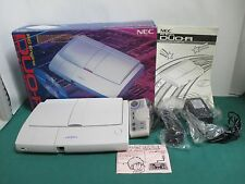 NEC PC Engine -- DUO R Console fullset -- JAPAN. Clean & Work fully. 13342