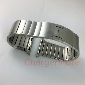 Original Apple Watch Link Bracelet band stainless steel 38mm 40MM 41MM Silver