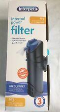Interpet Internal Power Filter PF3 (Up To 126 Litres) BNIB