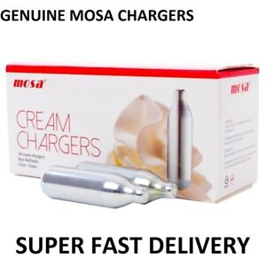 Cream Canisters Chargers Whipped 8g NOS N2O NOZ  Mosa Dispensers Fast & Free
