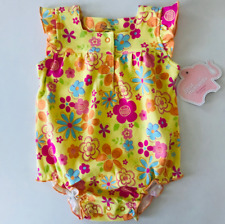 Baby Girl 3 Months Floral Sunsuit Creeper Bodysuit Clothes Cotton