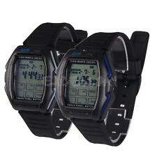 Touch Panel Remote Control TV/DVD Multifunction Digital LED Wrist Watches E0Xc