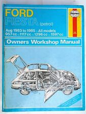 1983 - 1985 FORD FIESTA HAYNES OWNERS WORKSHOP MANUAL 957cc, 1117cc, 1296cc 1597