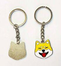 Shiba Inu Dog Doge Keychain Key Ring #Dogecoin