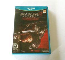 Ninja Gaiden 3 Razor's Edge (nintendo Wii U Gioco) completo W/manuale &