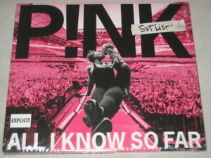 PINK all i know so far setlist CD NEW/SEALED