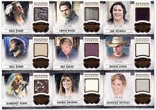 38 different 2014 Panini Country Music Musician Materials Card Lot /499 or less
