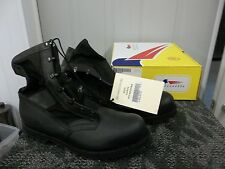 BELLEVILLE MEN BOOT BLACK SAFETY SHOE STEELTOE SIZE 14 MILITARY ADULT WORK NEW