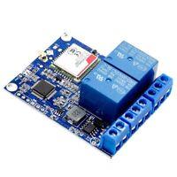 1X(Sms Gsm Remote Control Switch Sim800C Stm32F103C8T6 2 Channel Relay Modu G4O7