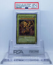 YUGIOH GBI-003 THE WINGED DRAGON OF RA ULTRA RARE (GOLD) PSA 8 NM-MT #28620031
