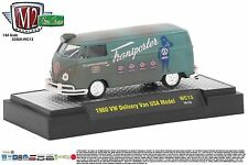 1:64 M2 Machines *WILD CARDS WC13* Teal 1960 VW Delivery Van USA Model *NIB*