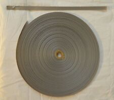"Webbing - 1/2"" x 45 ft- Light Weight Nylon - Silver (H11)"