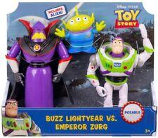 Disney Pixar -Toy Story Buzz Lightyear Vs. Emperor Zurg