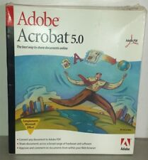 Adobe Acrobate 5.0 Retail Version with Disc, Manual, Documentation Serial Number