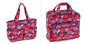 CRAFT BAGS & SEWING MACHINE BAGS  'Modern Floral' Design STUNNING SUPER QUALITY