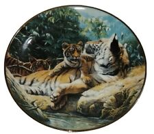 Royal Doulton Franklin Mint Collector Plate Basking In The Sun Weberbaler