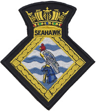 HMS Seahawk RNAS Culdrose Fleet Air Arm FAA Crest Mod Embroidered Patch
