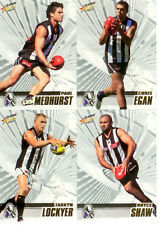 2008 Select AFL Classic Trading Card Base Card Team Set Collingwood (10)