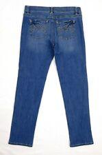 EUC White House Black Market Slim Ankle Women's Blue Jeans Size 4R Mid Rise