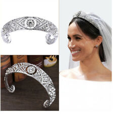 Bride Royal Wedding Meghan Princess Queen Crown Tiara Bandeau