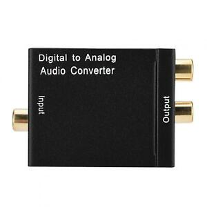 Audio Converter Digital Converter Portable For Home Audio Switching