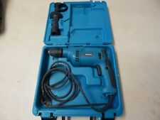 "Makita Hp1621F 1/2"" Corded Hammer Drill w/ Case + Handle"