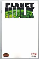 PLANET HULK #1 BLANK VARIANT COVER - MARC LAMING ART - 2015
