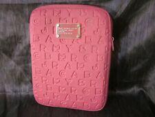 "MARC Workwear by Marc Jacobs Zipper Laptop Case 11"" Pink"