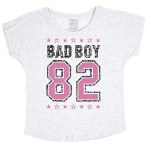 Bad Boy Women's Varsity Dolman - White