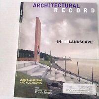 Architectural Record Magazine AIA Housing Awards July 2009 070217nonrh
