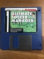 Amiga Power Magazine cover disk 51 Ultimate Soccer Manager TESTED WORKING