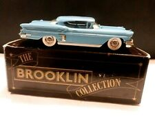 The Brooklin Collection 1/43 1958 Baby Blue Chevrolet Impala