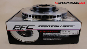PERFORMANCE FRICTION FRONT LEFT DIRECT DRIVE V3 ROTOR 322.053.63  FOR BMW E46 M3