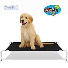 90 X 65 CM Raised Dog Pet Bed Heavy Duty Canvas Large Hammock Bed Trampoline
