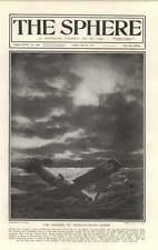 1919 Hawker Grieve Transatlantic Flight Mystery Austrian Delegates Arrive