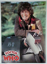 Doctor Who Tom Baker Kneeling with K-9 Poster- UNUSED ROLLED! (DWPO-016)