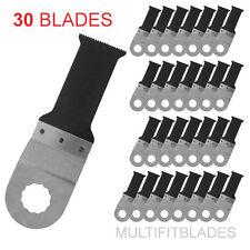 "30 x 1-1/8"" Premium Bi-Metal Oscillating Tool Blades - Ryobi Job Plus Compatible"