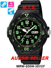 AUSSIE SELLER CASIO WATCHES MRW-200H-3BVDF MRW200H MRW-200 12-MONTH WARRANTY
