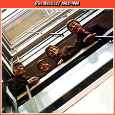 THE BEATLES - RED ALBUM 1962-1966 3C 162-05307/8 2 LP apple/emi italiana 1980 IT
