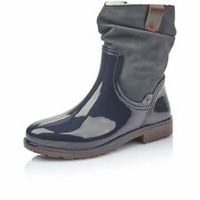 Rieker Da. Boots, Gr 40, blau, weiches Fussbett, Warmfutter, P9060