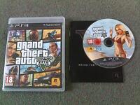 GTA V Grand Theft Auto 5 Five PS3