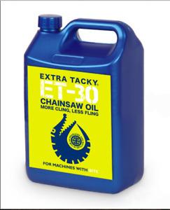 5 Litres Gator CHAINSAW OIL 100Cst Chain Oil Guide Bar Oil