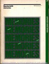 AMD Data Book 1984 Bipolar MOS Memories