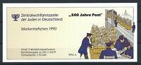 Allemagne RFA - Carnet privé 1990 - avec 5 X N°1308** (MNH) 500 ans de la poste