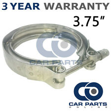 "V-BAND OUTER CLAMP STAINLESS STEEL EXHAUST TURBO HOSE RADIATOR 3.75"" 95mm"