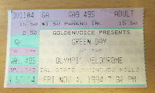 1994 GREEN DAY DOOKIE TOUR CONCERT TICKET STUB CAL STATE DOMINGUEZ HILLS DIRNT