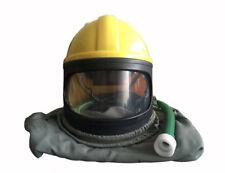 Safety Sandblast Helmet Air Fed Sandblaster hood Protector Cloak Air Supplied
